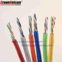 Wholesale Solid Copper high speed utp cable de red cat5e 4 Pair Twisted Pair Copper network Cable from china suppliers