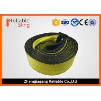 Wholesale OEM Multi Color 3 Inch Polyester Tow Strap , Reusable Car Tow Strap from china suppliers