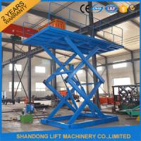Wholesale 5 ton 5M Constraction Stationary Scissor Lift Table 380v / 2.2kw or 220v from china suppliers