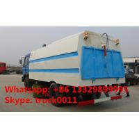 Wholesale dongfeng 145 CUMMINS 170HP RHD/LHD vacuum sweeping truck for sale, best price dongfeng brand 8m3 sweeping suction truck from china suppliers