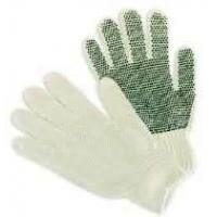 Wholesale Natural color anti-slip String Knit Gloves protecting hands for labor worker from china suppliers