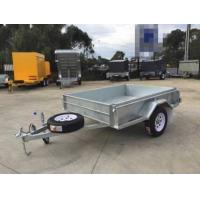 Wholesale 7x 5 Hot Dipped Galvanised Single Axle Trailer 750KG from china suppliers