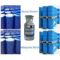 China 99% Benzyl Alcohol High Purity Safety Solvents Liquid With Strong SolubilityCAS 100-51-6 on sale