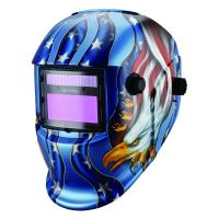 Wholesale Custom Welding Mask For MIG TIG Arc Welding Best Welding Helmet Decals American Flag Eagle Welding Hood from china suppliers