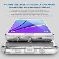 Quality Soft TPU Transparent Clear Dust Plug Cell Phone Case Samsung Mobile Phone Covers for sale