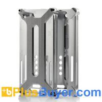 Wholesale Silver Case for iPhone 5 - Metal Stealth Design from china suppliers