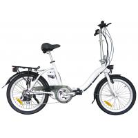 Wholesale Electric 20 inch folding bike With 24V / 10Ah li-ion battery  , Shimano 6 or 7 speed from china suppliers