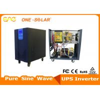 Quality Pure Sine Wave Low Frequency Solar Powered Inverter Built - In PWM Controller 5000W for sale