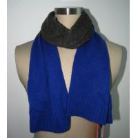 Wholesale Women Knitting Patterns Accessories Royal Blue Scarf BGAX16067 from china suppliers