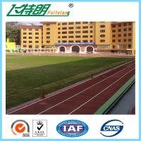 Wholesale Spray - Coat Red Rubber Running Track Material / Outdoor Permeable Running Track Flooring Material from china suppliers