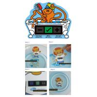 Infant Bath Water Temperature Card / Digital Floating Thermometer Baby Bath