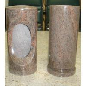 Buy cheap Granite ,marble stone vases &lamps HBV-513 from wholesalers
