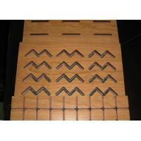 Wholesale MDF Acoustical Wood Ceiling Panels / Decorative Melamine Faced MDF Board from china suppliers