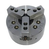 Wholesale Flat Back Three Jaw Wedge-Type High Speed Power Chucks With Through Hole from china suppliers