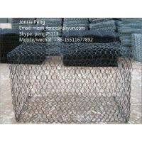 Wholesale Plastic powder coated gabion mesh box from china suppliers