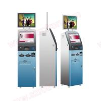 Wholesale Cheap price good quality Multifunctional outdoor Self service dual screens touchscreen kiosk with card reader from china suppliers