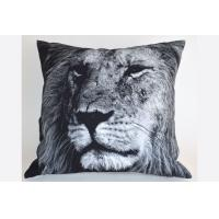 "Quality Floor Lion Cushion Cover , Personalized Decorative Pillow 18"" Customized for sale"