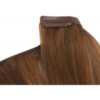 Wholesale Pre - Bonded Clipping In Hair Extensions Full Head Real Human Hair from china suppliers
