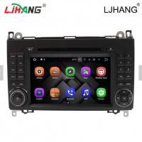 China 1024*600 Map Solution Mercedes Benz DVD Player 240 Dpi With Media Card on sale