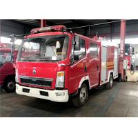 Quality SINOTRUCK Water Foam Fire Fighting Truck, HOWO 4x2 Rescue Vehicles Fire Fighting Truck for sale