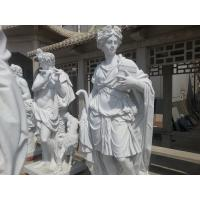 Quality white marble sculpture for western customer for sale
