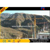 Wholesale 60m Span Fixed / Mobile Tower Crane 500m Rope Length For Building from china suppliers