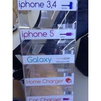 Wholesale 5 Tier Clear Acrylic Cell Phone Charger Display Rack USB Plug Stand Home from china suppliers