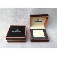 Quality Cardboard Cufflink Gift Boxes , Cufflink Display Case Personalised for sale