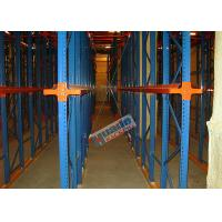 Wholesale Heavy Load Drive In Racking , Galvanised Pallet Racking Storage Drive Through Racks from china suppliers