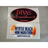 Wholesale Safe Glossy Varnish Custom Waterproof Stickers For Decoration , Logo Printed from china suppliers