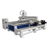 Wholesale Removable  4 Axis 1325 Woodworking  CNC Engraving Machine with Dia 300 Rotary Axis Holder from china suppliers