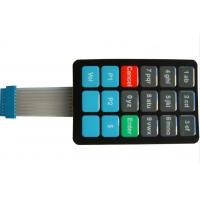 Wholesale PET Keyboard Membrane Switch With Metal Dome for Telephone systems from china suppliers