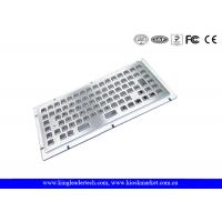 Wholesale Stainless Steel Liquid-Proof Industrial Mini Kiosk Keyboard With 86 Keys from china suppliers