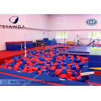 Wholesale Foam Pit Large Trampoline packaging materials foam IN Professional Gymnastic from china suppliers