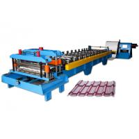 Wholesale 5.5KW Tile Roll Forming Machine For Step Tile Forming Metal Forming Tools from china suppliers