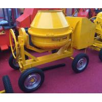 Wholesale High capacity 350L diesel engine powered concrete mixer 4 whees beton cement mixer from china suppliers