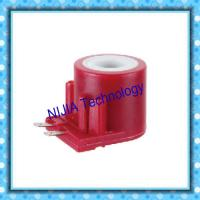 Wholesale Red Gas AC Solenoid Coil 2 Pin 15VA Insert Type Electromagnetic Coil from china suppliers