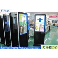 "Quality Customized LCD 43"" Totem Digital Signage Video Wall Solutions Touch Screen for sale"