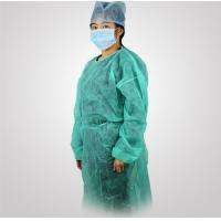 Buy cheap Disposable CPE Plastic surgical gowns ,Disposable Nonwoven PP/PE Isolation gown from wholesalers