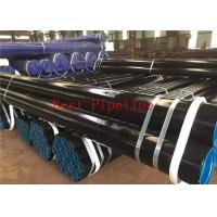 Longitudinally Electric Welded LSAW Steel Pipe 530-1220mm Diameter Grade K60 for sale