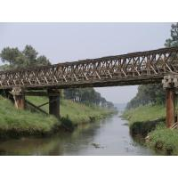 Wholesale Compact 100 Prefabricated Steel Bailey Bridge for Temporary Use from china suppliers