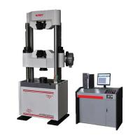 Wholesale Computerized Hydraulic Universal Testing Machine Worm Gear Drive 600 KN Capacity from china suppliers