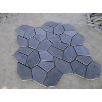 Wholesale Black Slate Flagstone Charcoal Slate Flagstone Walkway Patios Flooring Flagstone Wall Cladding from china suppliers