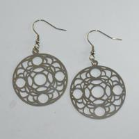 Wholesale Fashion High Quality Ladies Women Girls Stainless Steel Earrings LEF220 from china suppliers