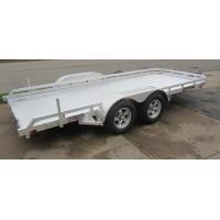 Wholesale Flat Bed 6 X4 Ft All Aluminum Open Trailer Single Axle With V- Type Draw Bar from china suppliers