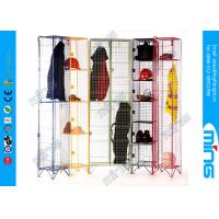 Wholesale Powder Coated Single Nest Wire Display Stands Mesh Lockers from china suppliers