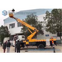 Quality JMC 4x2 20m telescopic work platform high altitude operation truck for sale
