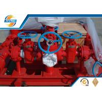 Wholesale Onshore Drilling Well Control Equipment Hydraulic Drilling Choke Manifold from china suppliers