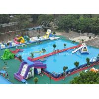 Wholesale Funny Inflatable Water Parks With Large Rectangular Metal Frame Swimming Pool from china suppliers