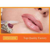 Wholesale Lip Augmentation Hyaluronic Acid Dermal Filler Injectable Derm Deep Fillers from china suppliers